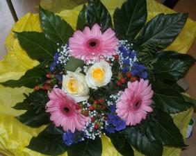 Blumenstrauß-Gewinn