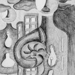 Bleistiftzeichnung 2010 Manuela Jung MJ-Arts