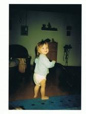 Tizian bei der Hausarbeit 2002